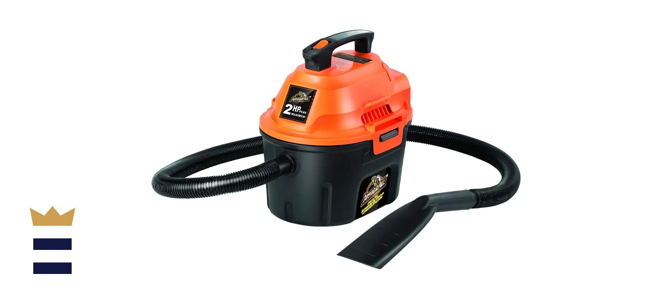 Armor All 2.5-Gallon Wet/Dry Utility Shop Vacuum