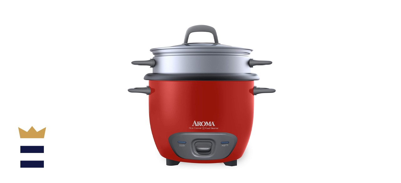 Aroma Housewares Pot-Style Rice Cooker & Food Steamer