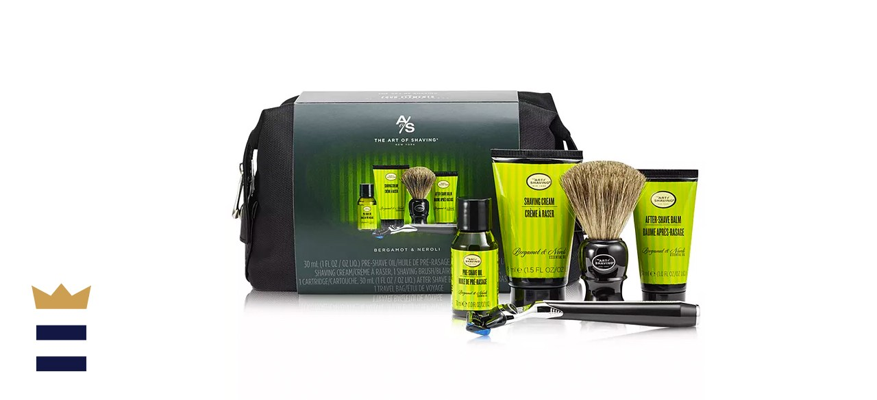 Art of Shaving The Men's 6-Pc. Travel Kit with Morris Park Razor, Bergamot and Neroli