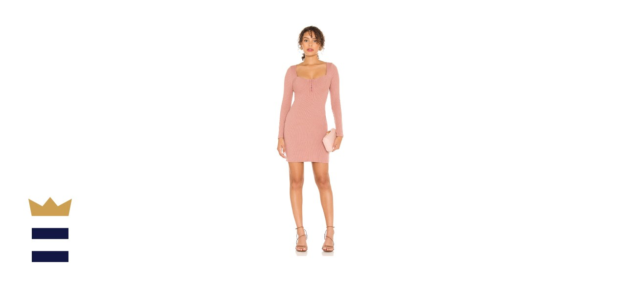 ASTR The Label Hook and Eye Bodycon Dress