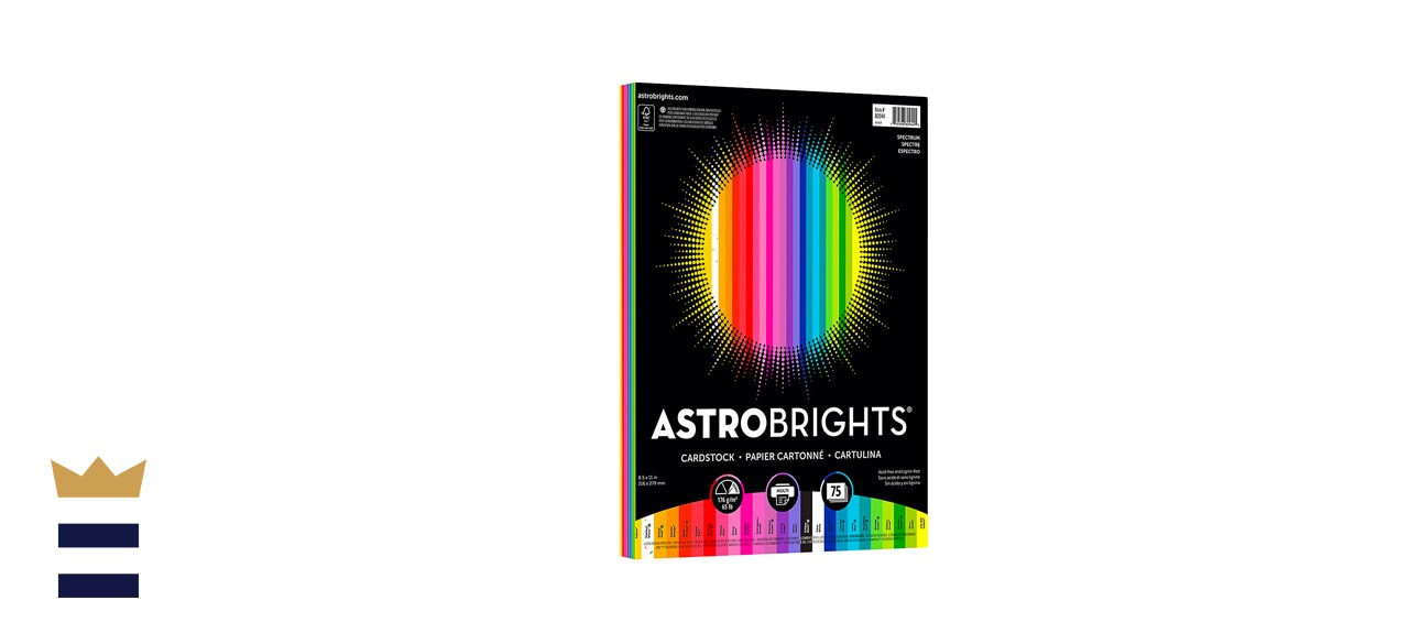 Astrobrights Colored Cardstock 75 sheets