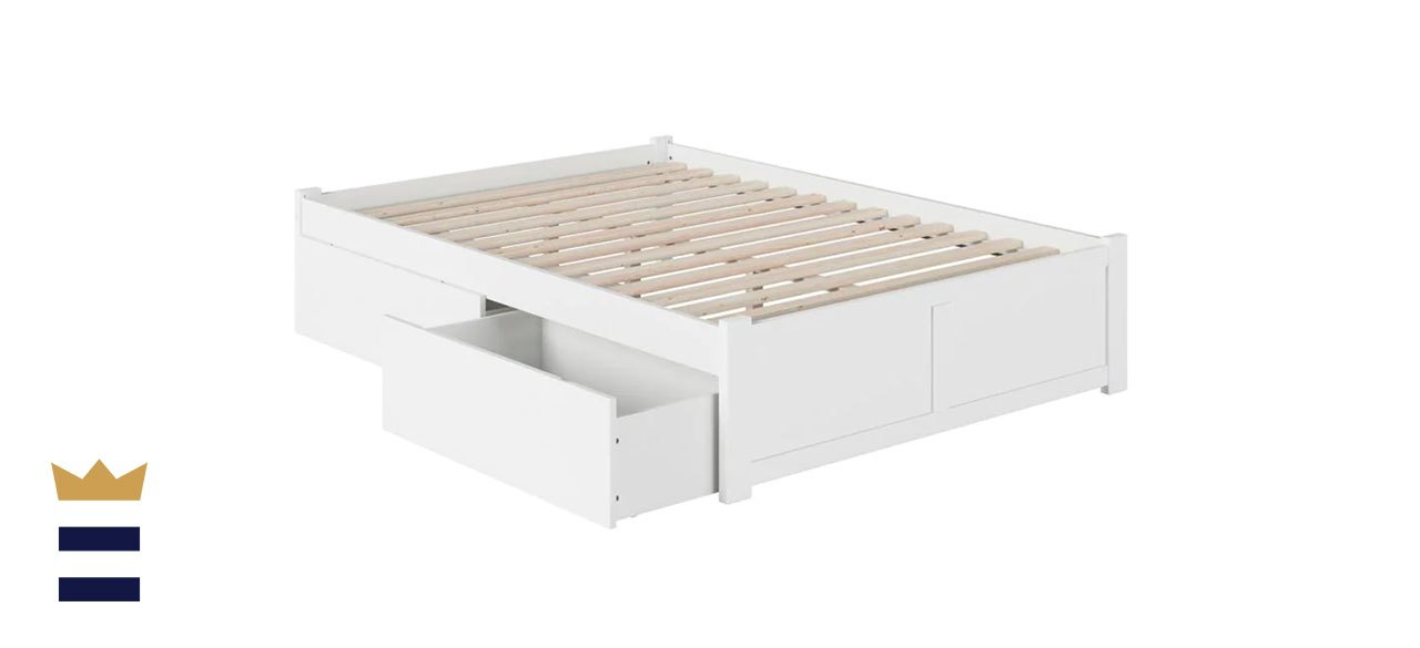 Atlantic Furniture Concord Twin XL Platform Bed with Drawers