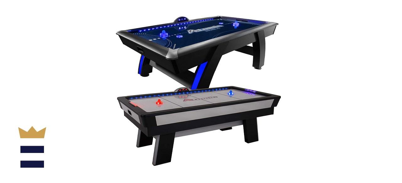 Atomic 7.5 ft LED Light Up Arcade Air Powered Hockey Table