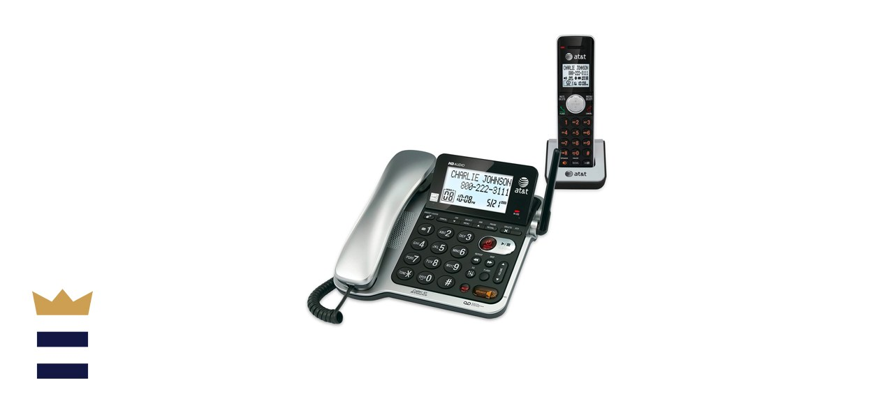 AT&T Corded/Cordless Phone System With Answering Machine