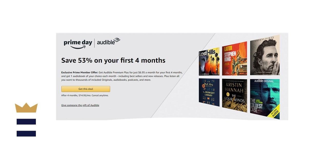Audible Premium Plus Membership