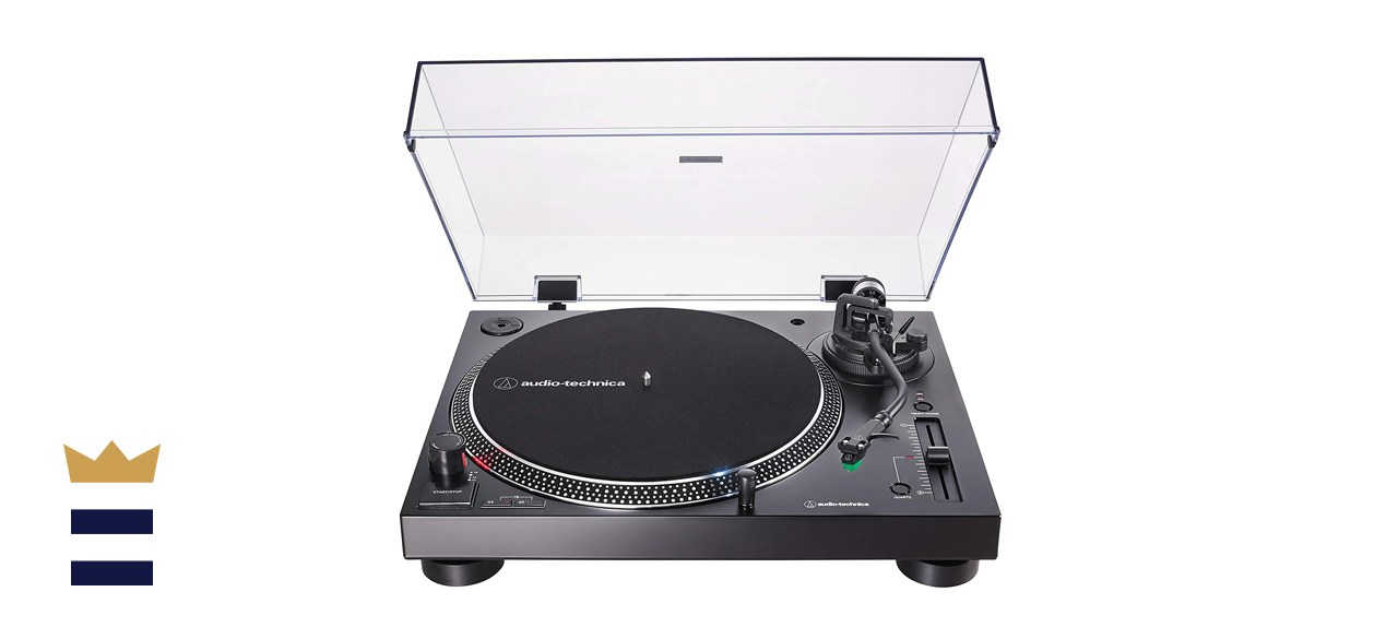 Audio-Technica AT-LP120XUSB-BK Direct-Drive Turntable