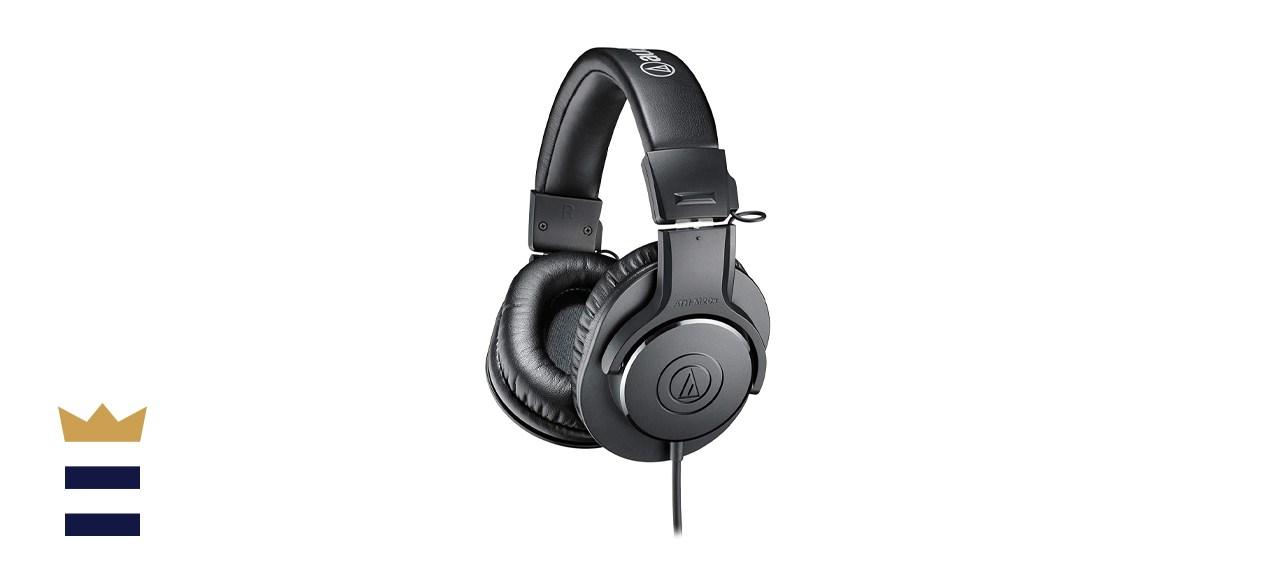 Audio-Technica ATH-M20X Professional Studio Monitor Headphones
