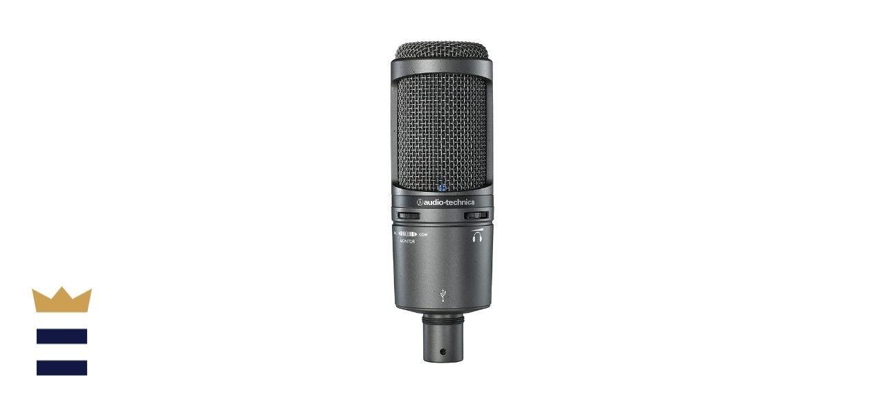 Audio-Technica's Cardioid Condenser USB Microphone