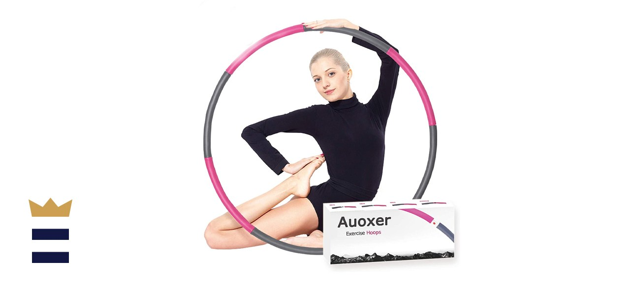 Auoxer Fitness Weighted Hula Hoop