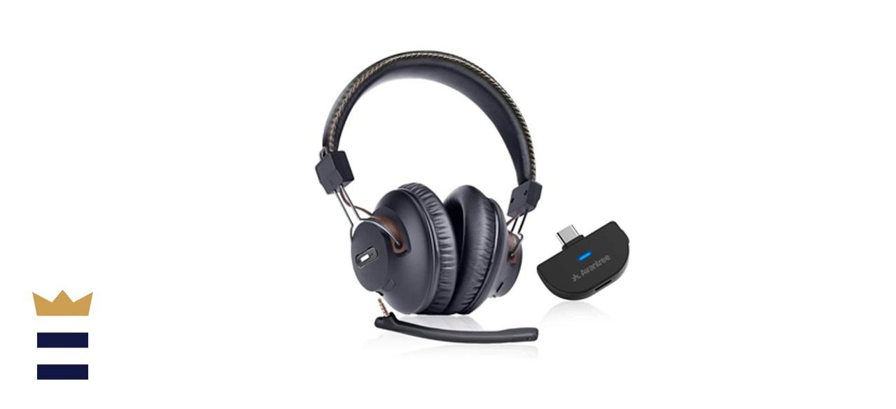 Avantree C519M Plug & Play Wireless Headphones Set