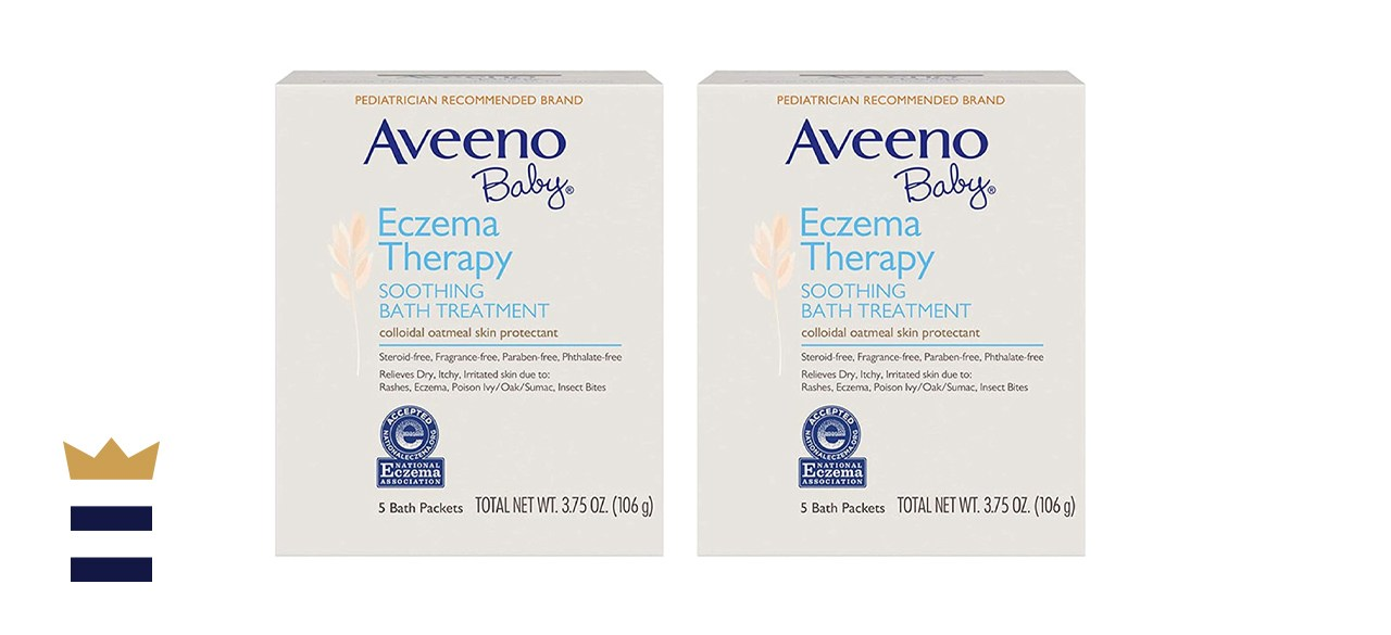 Aveeno Baby Eczema Therapy Soothing Bath Packs