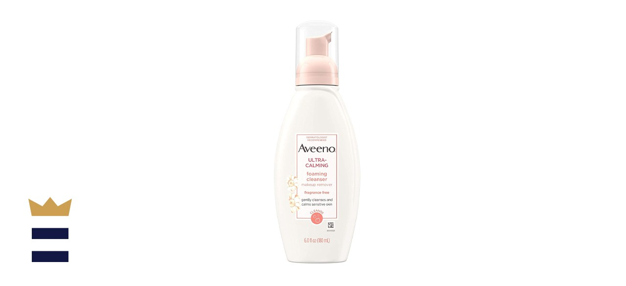 Aveeno Ultra-Calming Foaming Cleanser & Makeup Remover