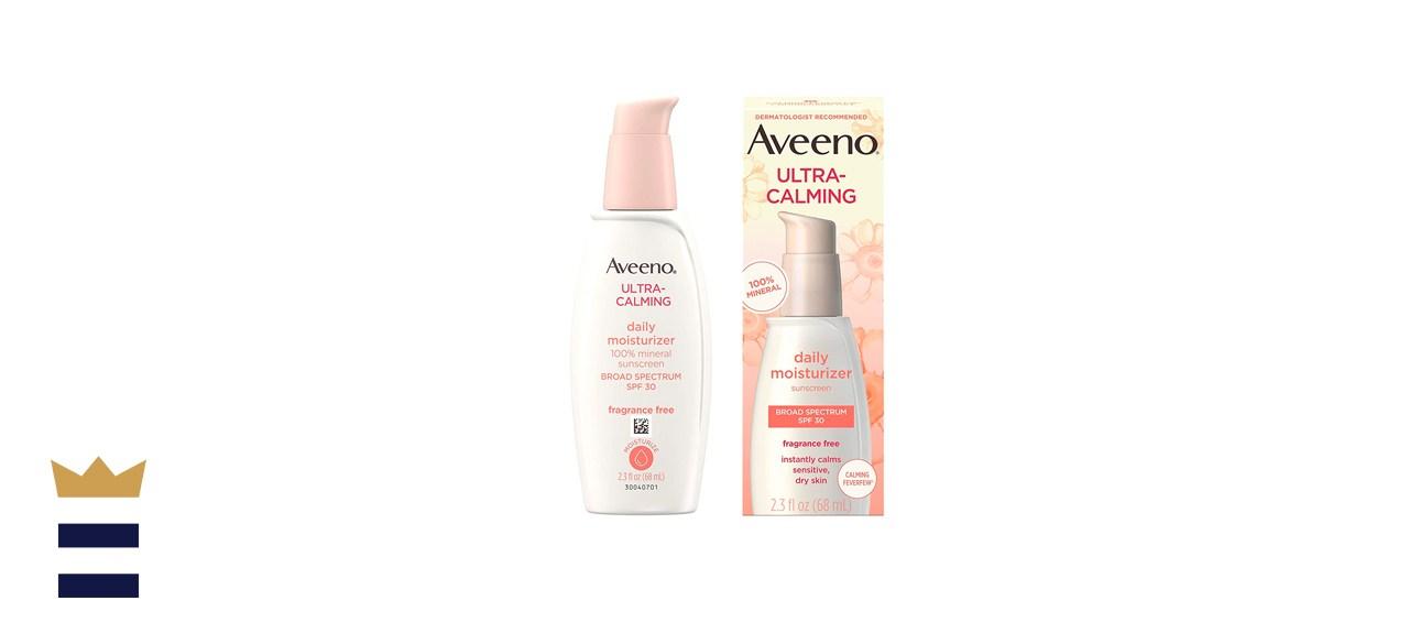 Aveeno Ultra-Calming Fragrance-Free Daily Facial Moisturizer