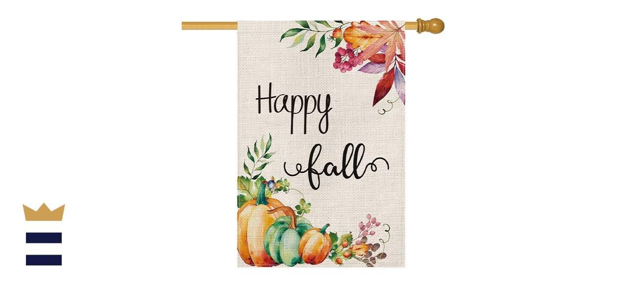 AVOIN Happy Fall House Flag