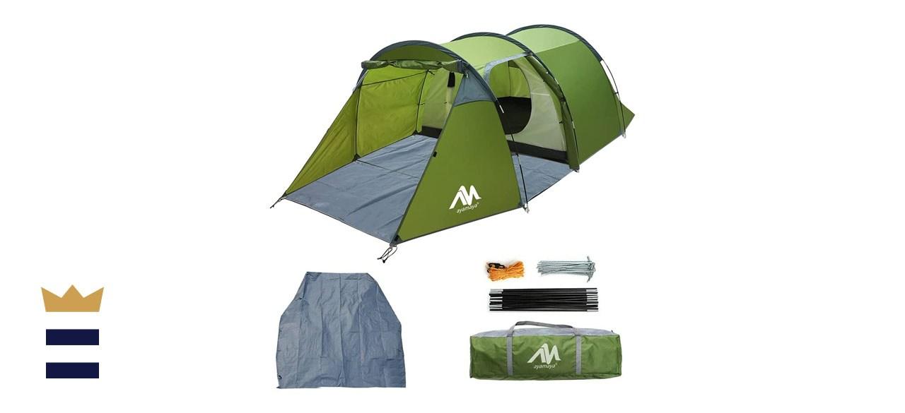 AYAMAYA Multifunction Family Camping Tunnel Tent
