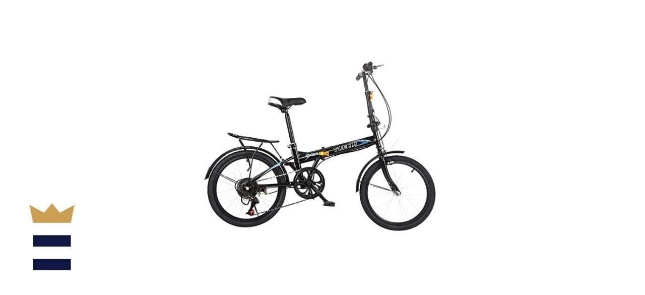Babmua 7-Speed Folding Bike for Adults