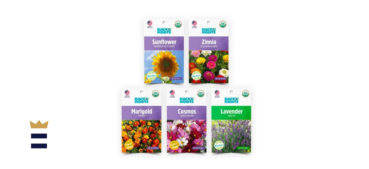 Back to the Roots Organic Flower Seed Variety Pack