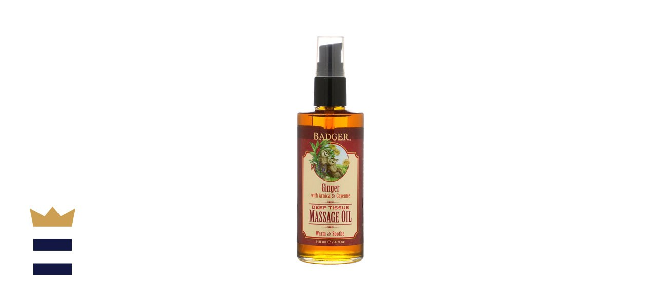 Badger Company Deep Tissue Massage Oil