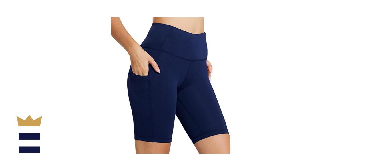 BALEAF Women's High-Waist Compression Shorts