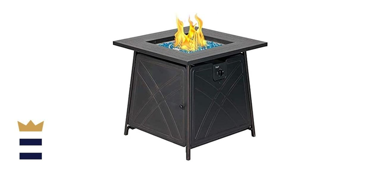 BALI OUTDOORS Gas Fire Pit Table