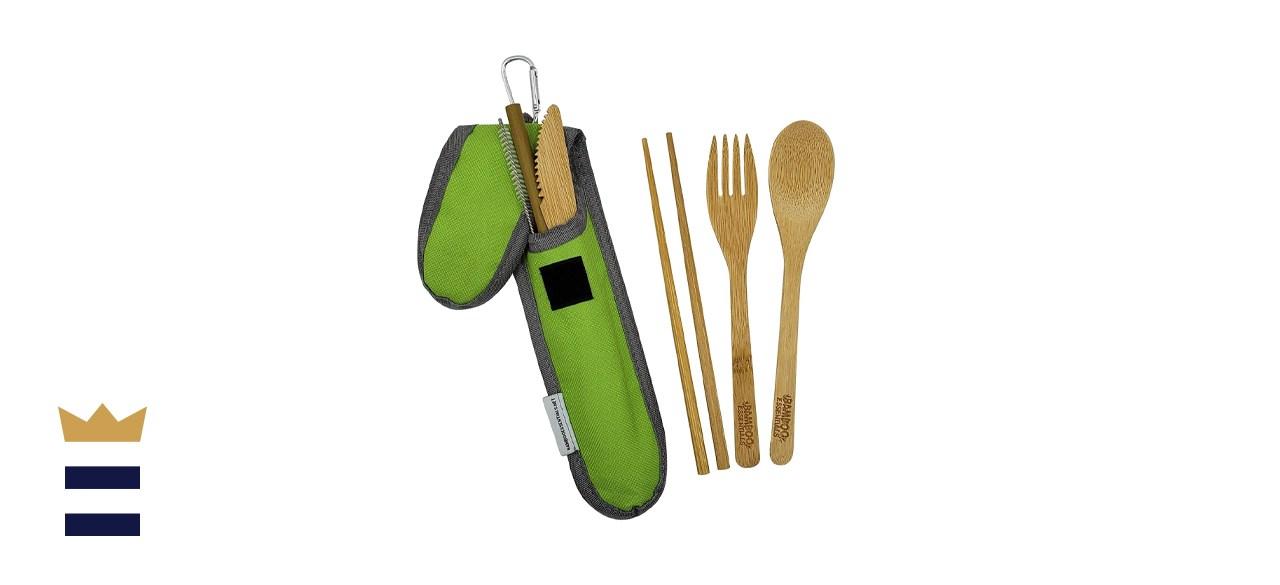 Bamboo Essentials Bamboo Travel Utensil Set