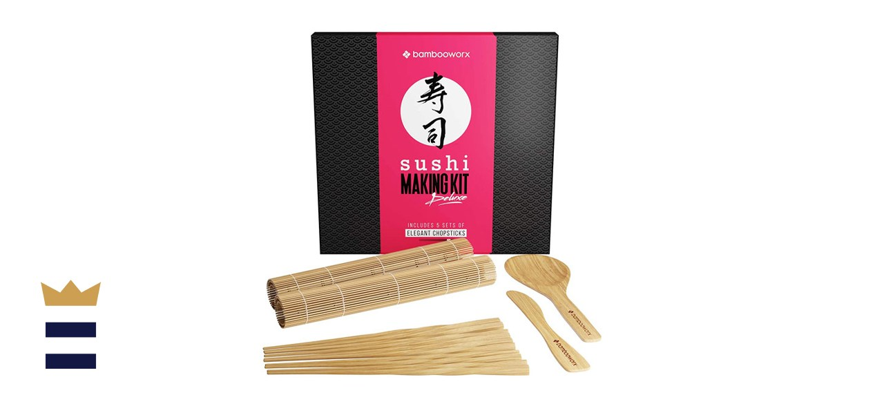 BambooWorx Sushi-Making Kit Deluxe with Chopsticks