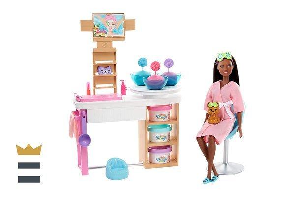 barbie spa day