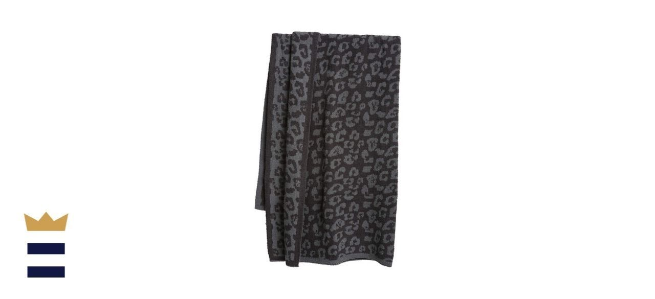 Barefoot Dreams CozyChic Barefoot in The Wild Throw Blanket