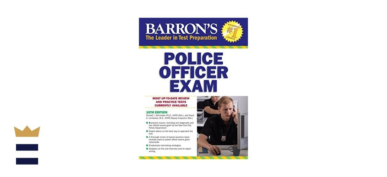 Barron's Educational Series Police Officer Exam, 10th Edition