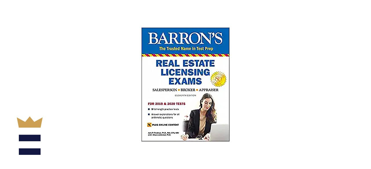 Barron's Test Prep Real Estate Licensing Exams for 2019 & 2020 (11th Edition)
