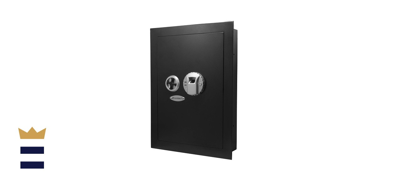 Barska Biometric Fingerprint Security Wall Safe