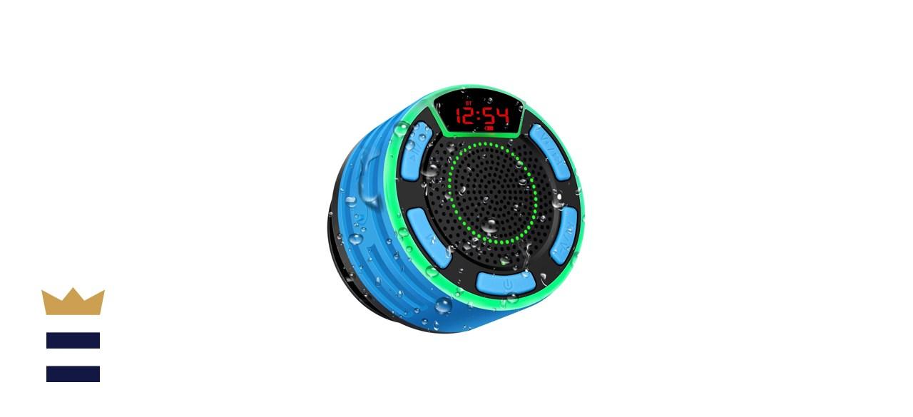 BassPal IPX7 Portable Shower Speaker