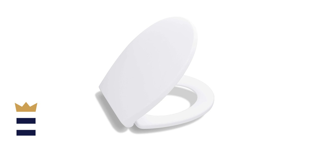 Bath Royale Premium Round Toilet Seat With Cover