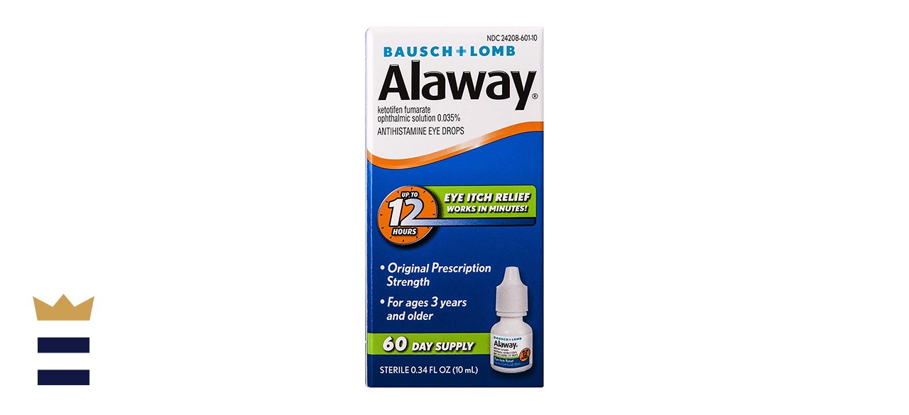 Bausch Lombs Alaway Antihistamine Eye Drops
