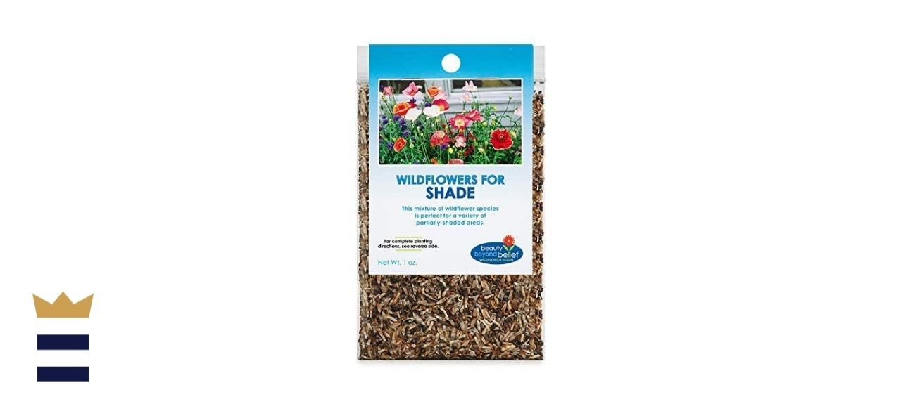Beauty Beyond Belief's Bulk Partial-Shade Wildflower Seeds and e-Books