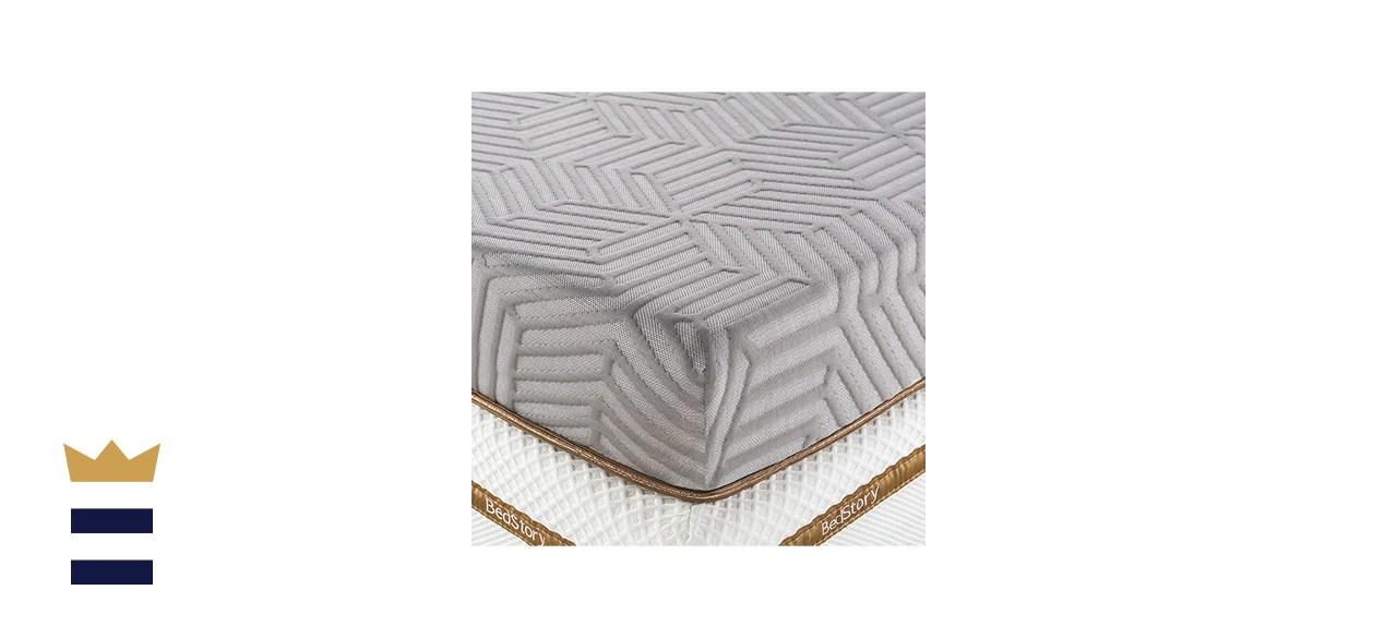 BedStory Cooling Gel Memory Foam Mattress Topper
