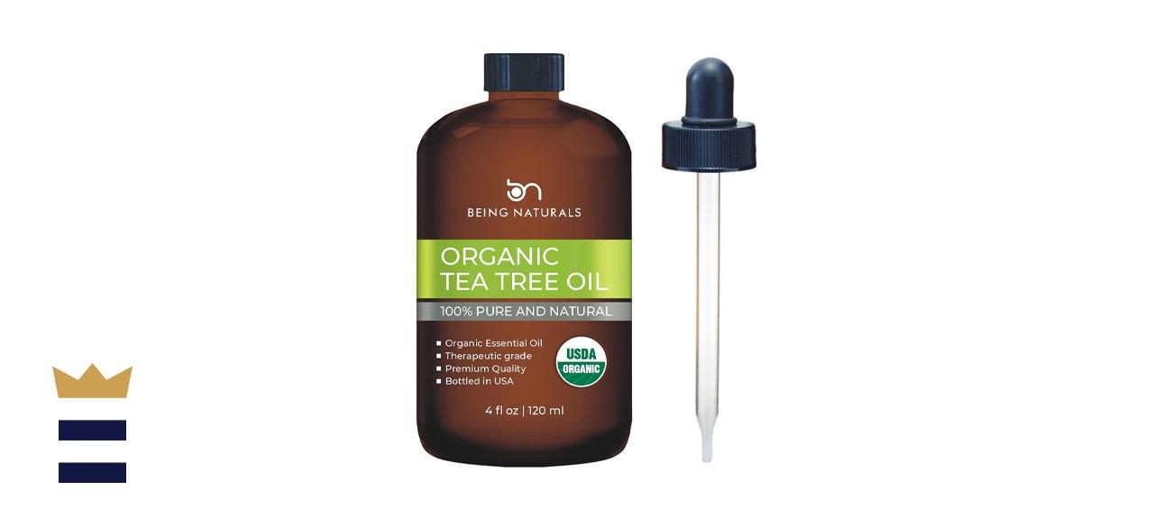 Being Naturals Organic Tea Tree Essential Oil
