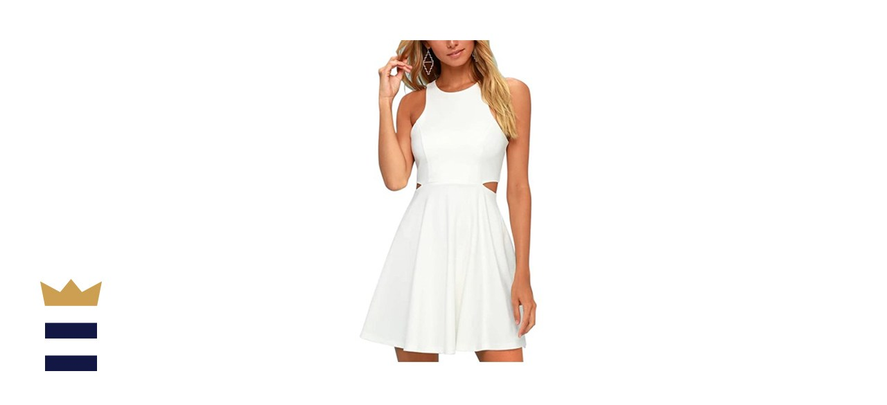 BELONGSCI Racerback A-line Dress
