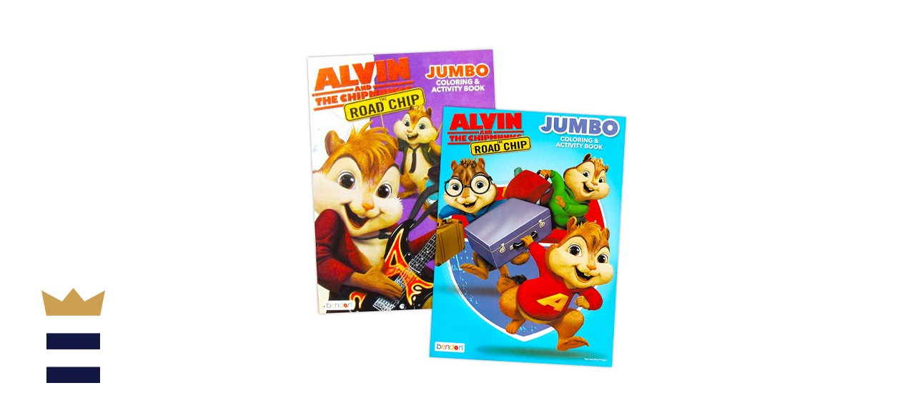 Bendon Publishing Alvin and the Chipmunks Coloring and Activity Book Set