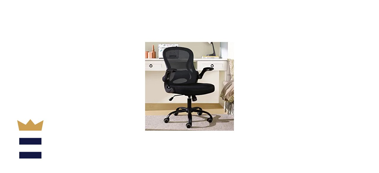 BERLMAN Ergonomic Mid-Back Mesh Office Chair