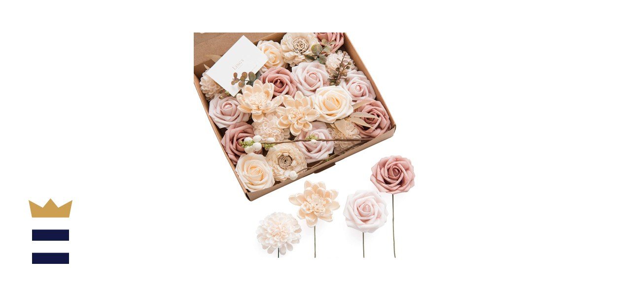 Ling's moment Dusty Rose Artificial Flowers