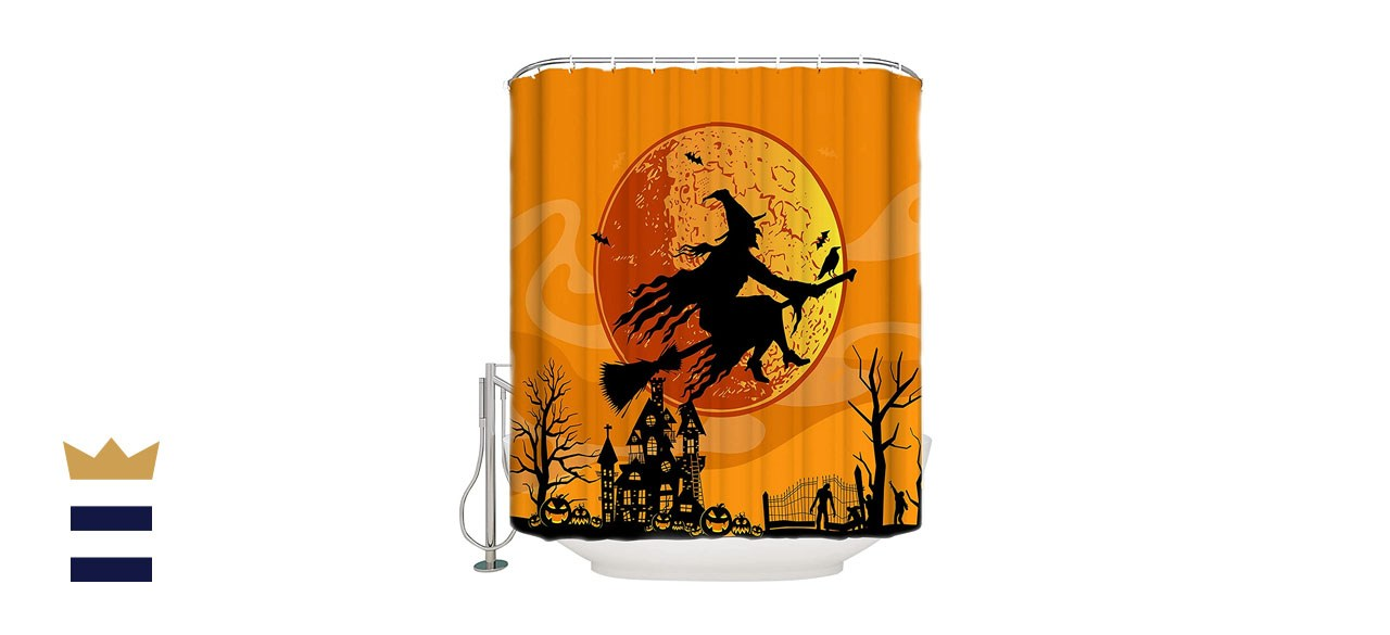 BestLives Halloween Curtain with Hooks