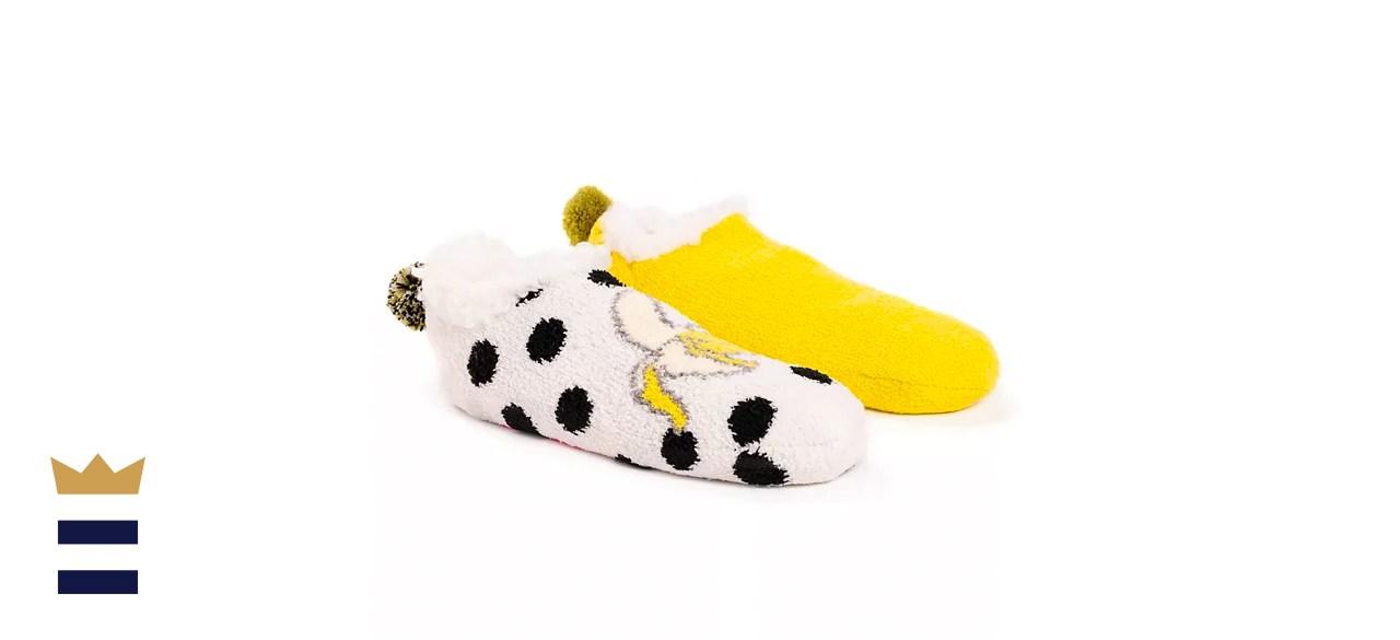 Betsey Johnson Cabin Footie Sock Set