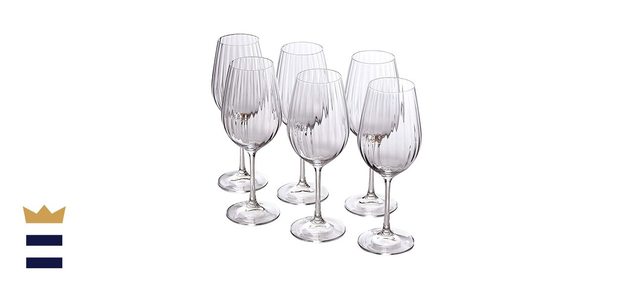 Bezrat Waterfall Edition Wine Glasses, Set of 6