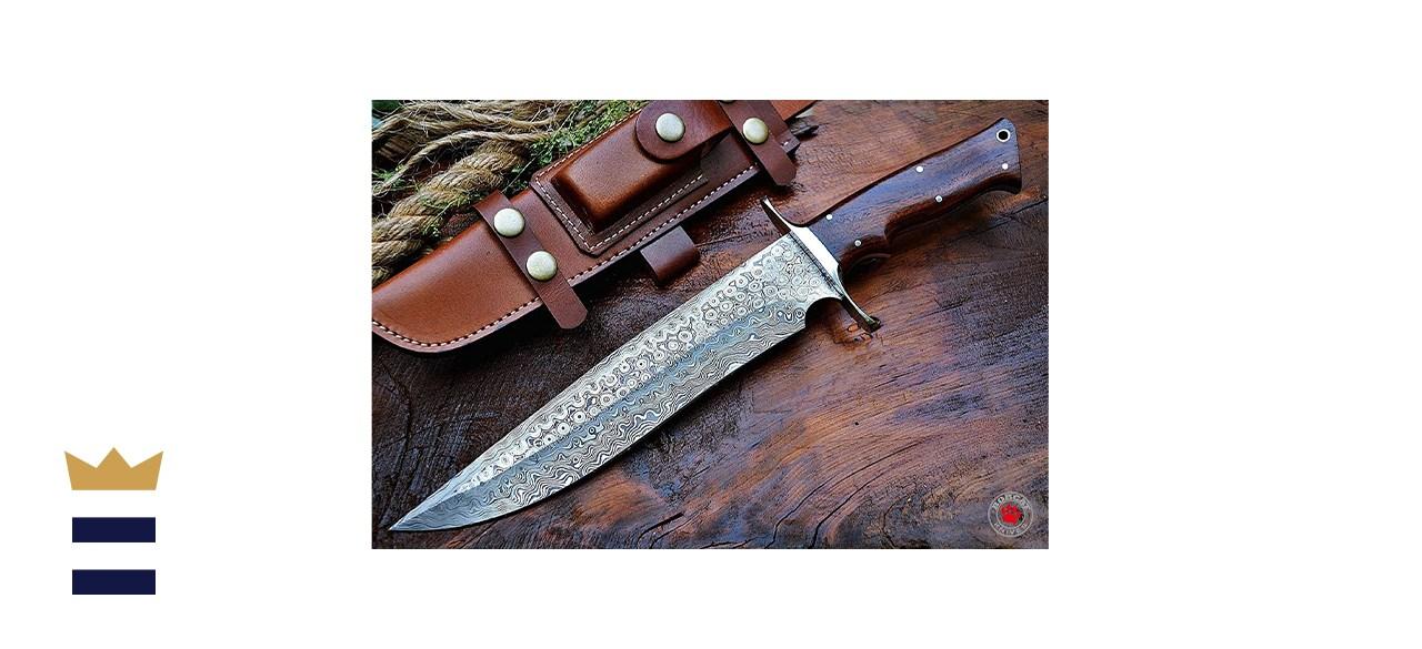 Bigcat Roar Custom Handmade Survival Knife