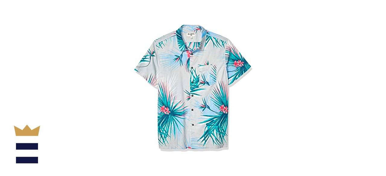 Billabong Sundays Floral Short-Sleeve Woven Shirt
