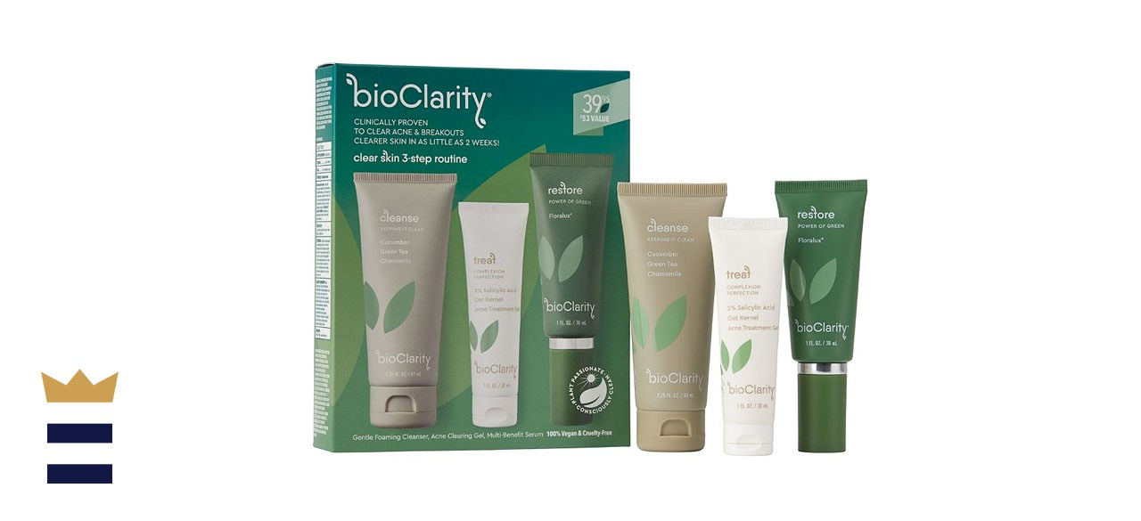 bioClarity Clear Skin 3 Step Routine For Acne And Breakouts