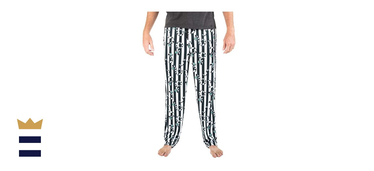Bioworld Beetlejuice AOP Sleep Pants