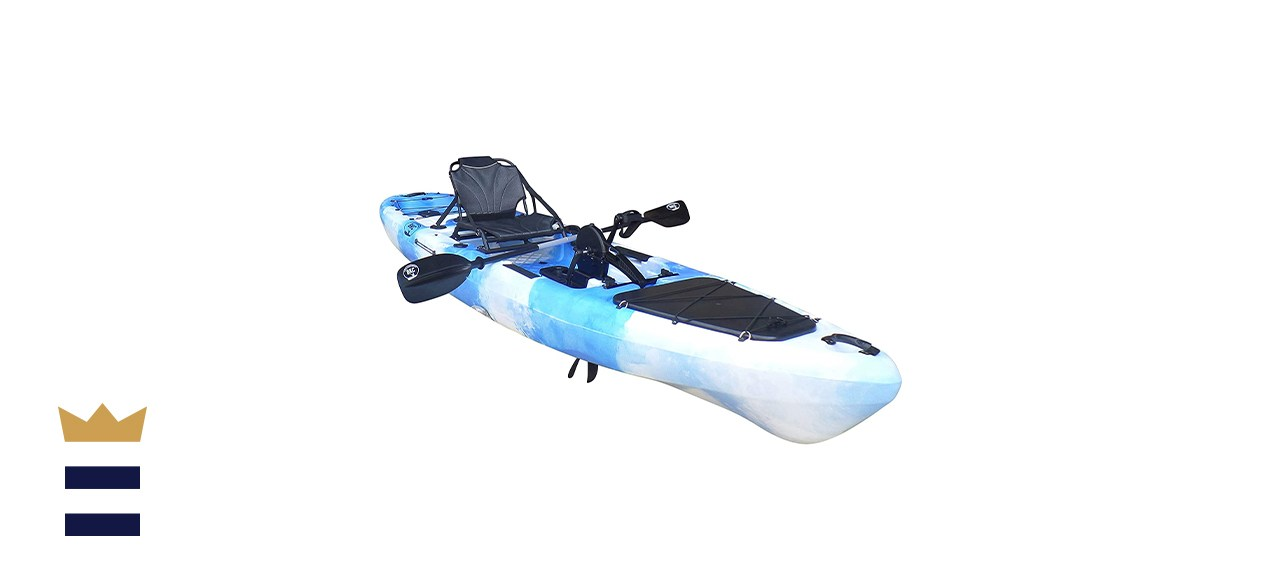 BKC PK13 Pedal Drive Fishing Kayak