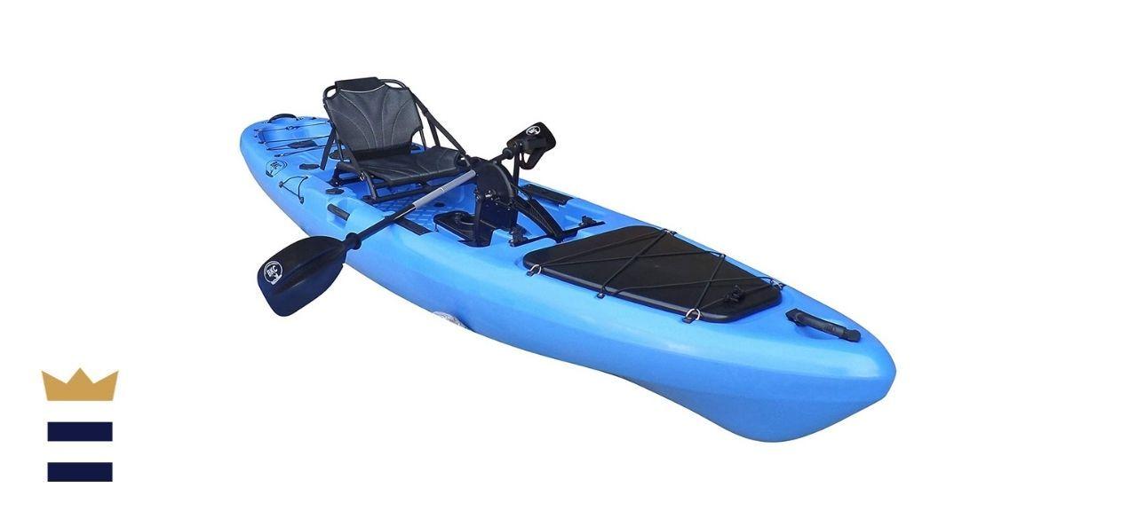 BKC PK13 Pedal-Driven Fishing Kayak